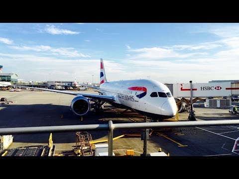 British Airways Business Class - Dreamliner - London to Seoul [4K]