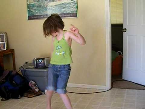 My little sister dancing!