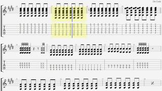 ONE OK ROCK Wherever you are ギター タブ guitar TAB