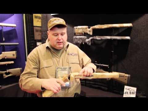 SHOT Show 2012 - Manners Composite Stocks Folding Stock