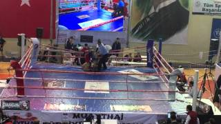 Turkey National Muay-Thai Championship 2016 -91kg A Div.