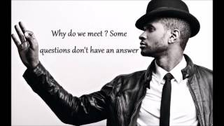 Usher ft. Chris Brown - All Falls Down (Lyric Video)