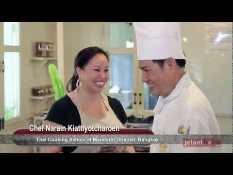Thai Cooking with Mandarin Oriental Bangkok's Chef Narain