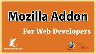 Web Developer  Mozilla AddOns (Bangla Tutorial)