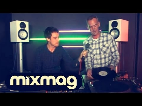 Fatboy Slim in the Mixmag DJ Lab