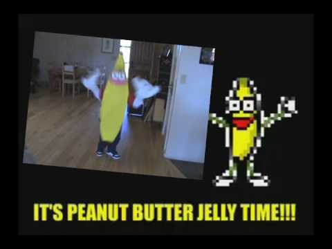 Peanut Butter Jelly Time - Grover's costume and routine for Halloween 2009 Video