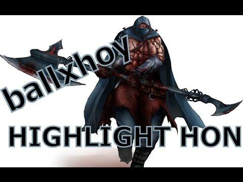 Highlight HON - Legionnaire - ballxhoy - MMR 2048 - สับหัวแบะ