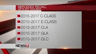 Mercedes recalls 1M vehicles worldwide due to fire risk