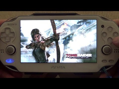 PSVita Remote Play: Tomb Raider Definitive Edition