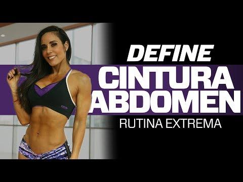 DEFINE CINTURA Y ABDOMEN: Rutina Extrema