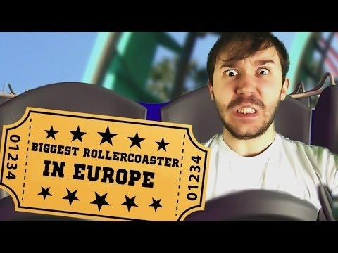 The Biggest Roller coaster In Europe 2  Yamimash1