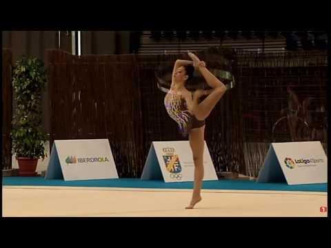 Paula Riquelme en Campeonato España de Rítmica  Logroñó 2017