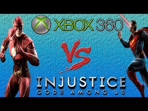 Flash Vs Superman - Injustice: Gods Among Us - Gameplay - Xbox 360