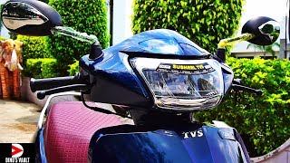 TVS Jupiter Grande First Ride Review Pros Cons What's New #ScooterFest