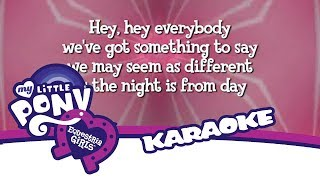 Equestria Girls - Cafeteria Song - Karaoke Version