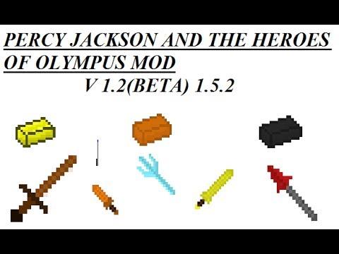 Minecraft Mod Showcase - Percy Jackson and The Heroes of Olympus mod V 1.2(Beta) 1.5.2