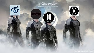 the k-pop hunger games [group edition]
