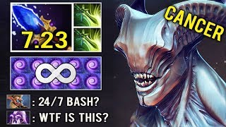 NEW CRAZY UNLIMITED BASH 7.23 Scepter Void Time Walk Bash Most Annoying Skill Dota 2