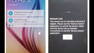 SAMSUNG S6 ( G920T ) T-MOBILE Network Unlock & ROOT