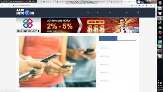 MMO 2019 cách kiếm tiền với instafxcoppy.com đã rút tiền nhiều lần