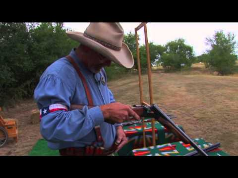 Double Barrel Shotgun: Loading and Unloading a Side-by-Side - Cowboy Action Shooting