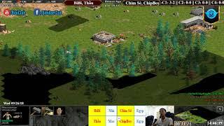 C2T1 - AoE 22 Random BiBi, Thầu vs Chim Sẻ, Chip Boy Ngày 26-9-2018