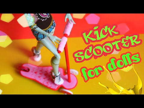 How to Make Scooter for Dolls Monster High Ever After High