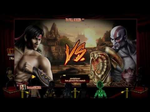Онлайн - мясо! - Mortal Kombat #73 - Тёмный Кратос
