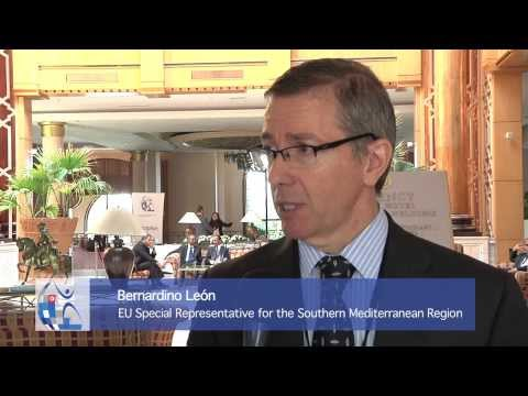 Bernardino León explains how the EU and UfM can promote job creation in the Mediterranean region