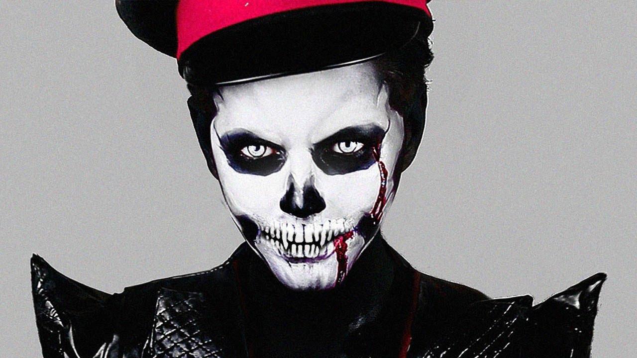 Zombie Skull Makeup
