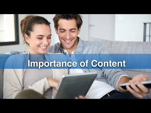 4. Importance of Content - European Commission Live Event