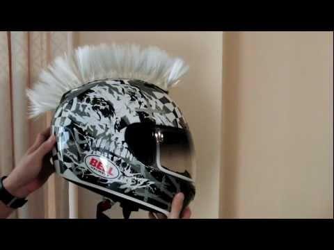 Motorcycle Helmets Mohawk Black Motorcycle Helmet Mohawk