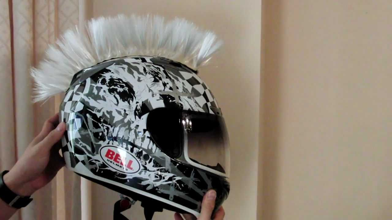 Cool Motorcycle Helmets With Mohawks Motorcycle Helmet Mohawk