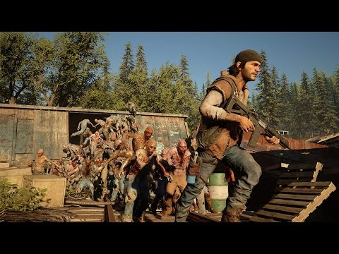Days Gone - New Gameplay (Leaked E3 2016)