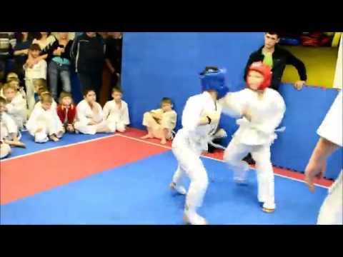Детские спортивные игры Спарта, секция Киокусинкай-карате, ЦРТДЮ Большое Мурашкино