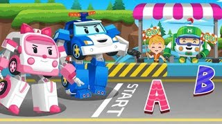 Robocar Poli English Game Lite ABC Letters-Game For Kids Children and Toddlers-Robocar Poli Games