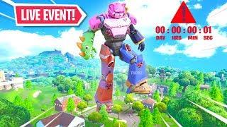 *NEW* Fortnite ROBOT vs MONSTER EVENT RIGHT NOW! Live Event (Fortnite Battle Royale)