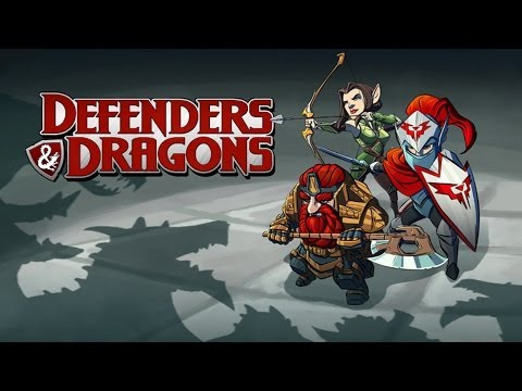 Defenders & Dragons - Universal - HD (Sneak Peek) Gameplay Trailer