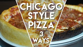Chicago Style Pizza - Deep Dish, Pequod's, and Thin Crust Recipes