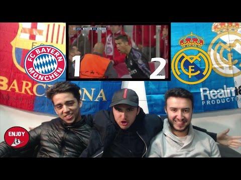FC BARCELONA FANS REACT TO REAL MADRID PUNISHING & DESTROYING BAYERN MUNICH 1-2 - LIVE REACTION thumbnail