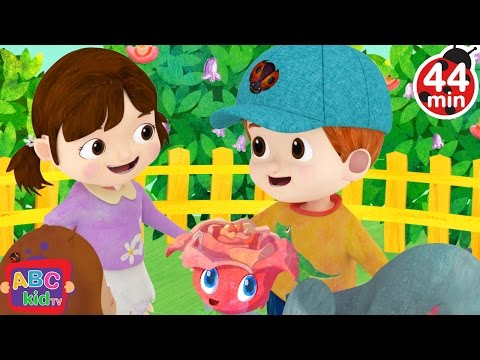 Ring Around the Rosy | + More Nursery Rhymes & Kids Songs - ABCkidTV