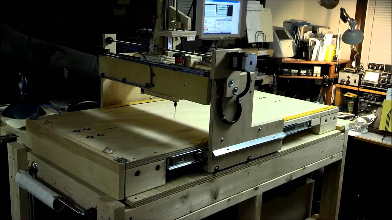 DIY $400 CNC Machine - YouTube