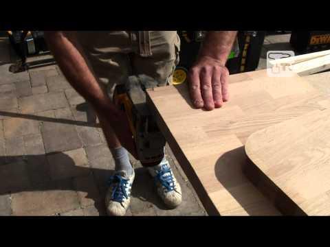 How to Cut Oak Worktop Using a Cordless Jigsaw