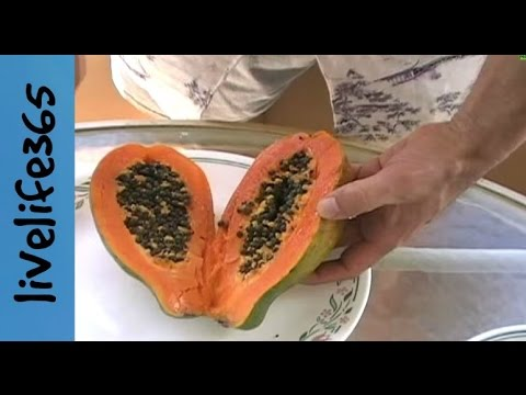 How to...Eat a Papaya