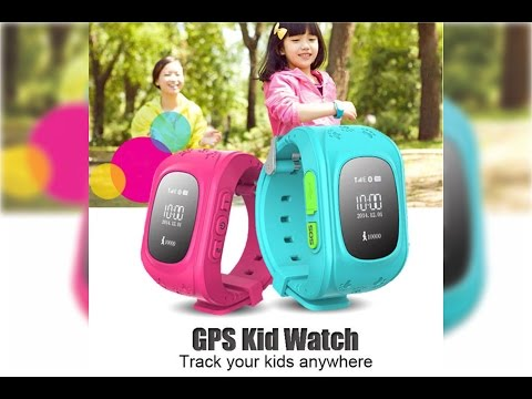 "Review & Hand's On Smart watch ""GPS KIDS WATCH""."