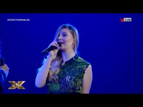 Kyle and Michela bring back memories| X Factor Malta Season 02 | Final Live Show