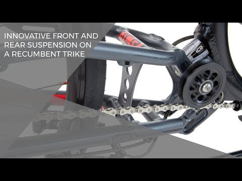 Learn more about ICE recumbent trikes at: http://www.icetrikes.co ICE recumbent trikes are available with custom-designed front and rear suspension. These sy...