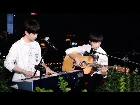 【TFBOYS - Karry & Roy】《Hello, Tomorrow》Cover by Junkai Wang & Yuan Wang 150612
