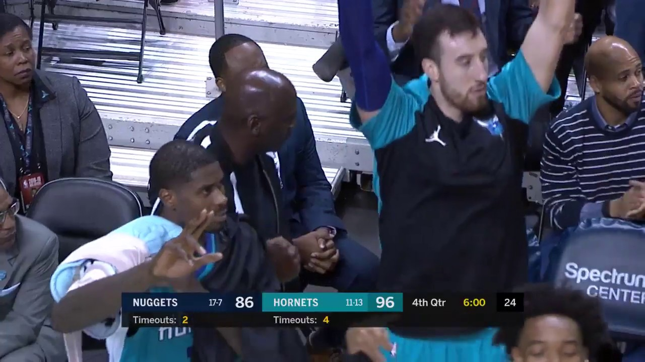 Kemba Walker's Crossover Gets MJ Out Of His Seat