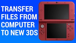 Transfer Files to a New 3DS & XL with Data Management